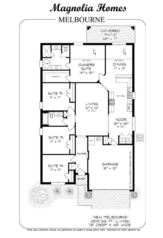 the melbourne new homes by magnolia homes jacksonville