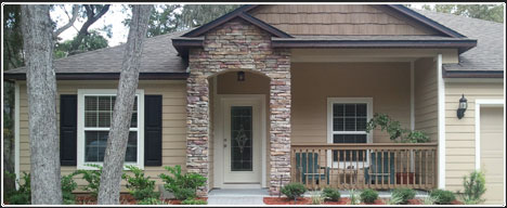 Exterior home image from Jacksonville Florida Homebuilder