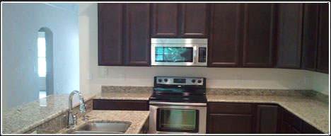 Example of kitchen in our new homes