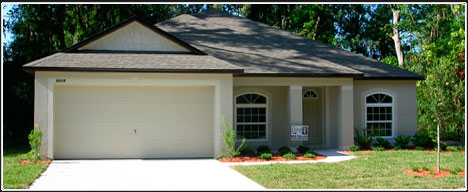 New home construction contractor in North Florida