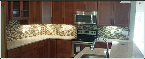 Jacksonville Florida homebuilder - kitchen